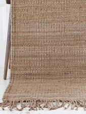 Tell me more Hemp Rug - Natural / Brown - 170x240cm - Tell Me More