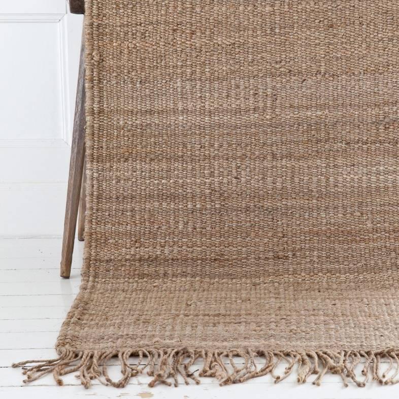 Tell me more tapis toile de chanvre naturel 170x240cm tell me more petite lily interiors - Toile antiderapante pour tapis ...