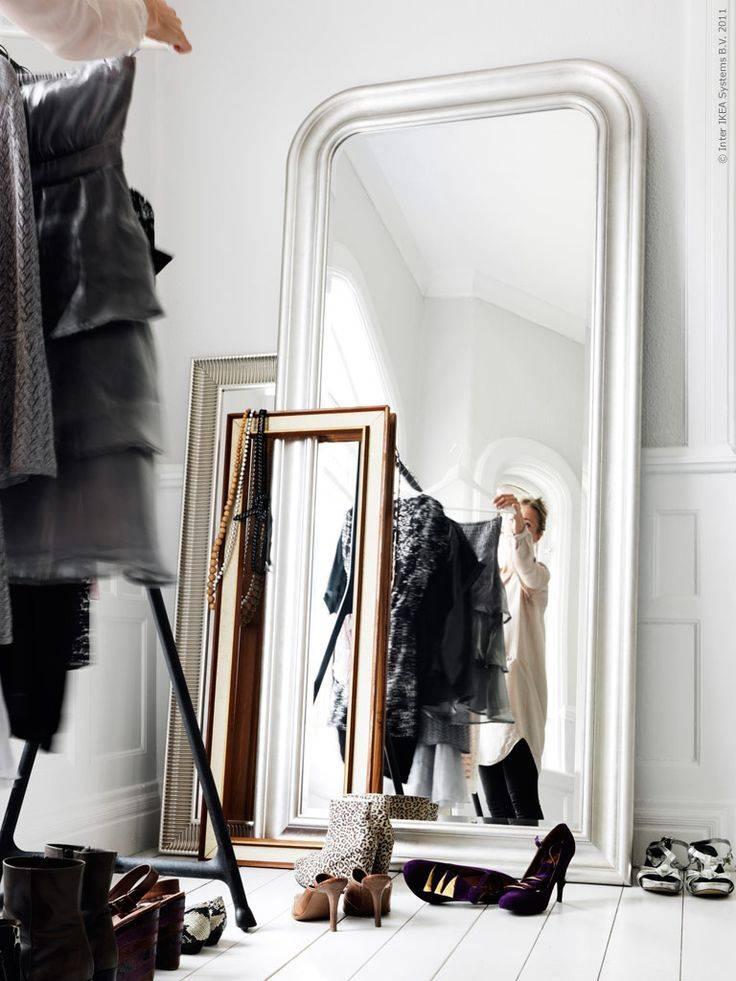 Source Pinterest: Les Miroirs (de Grande Taille) Sont Tendance ! Source