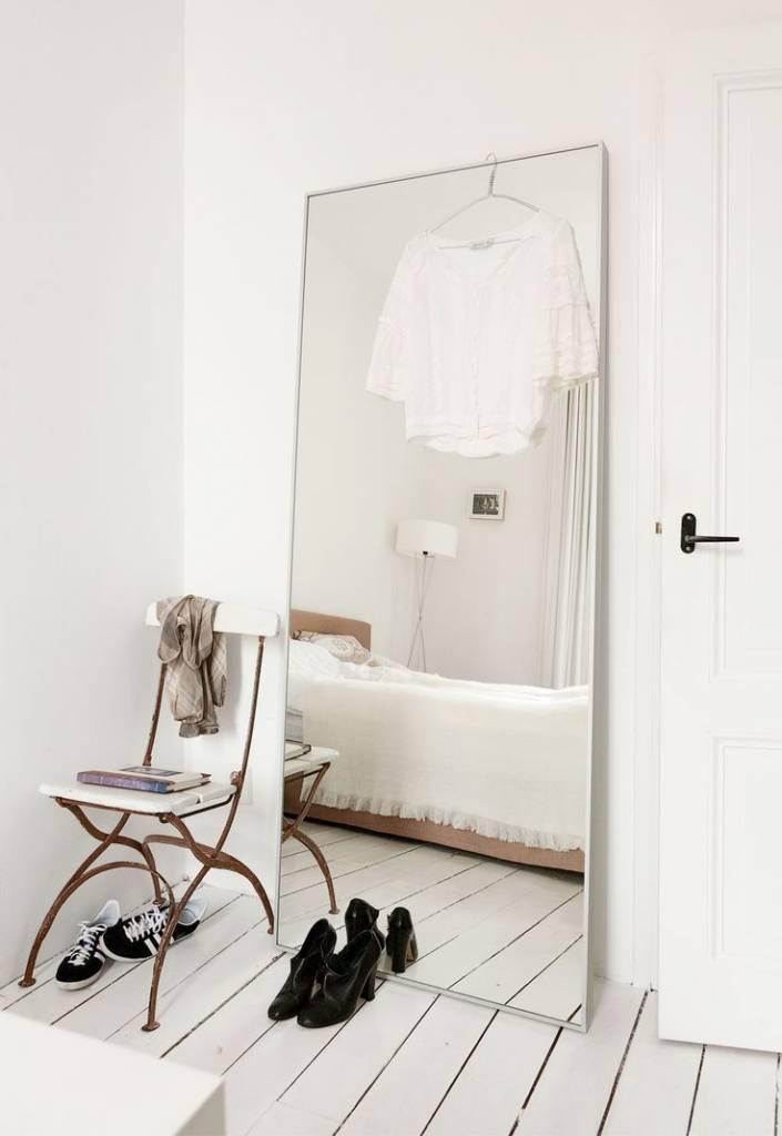Los Espejos -muy grandes- son tendencia! - visto en Pinterest