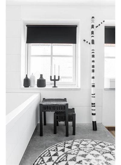 HK Living Round bath mat Ø120cm- HK Living