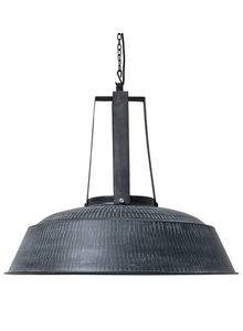 HK Living Lámpara de Suspensión Industrial - Negro Mate en Metal - Ø75 - Living HK