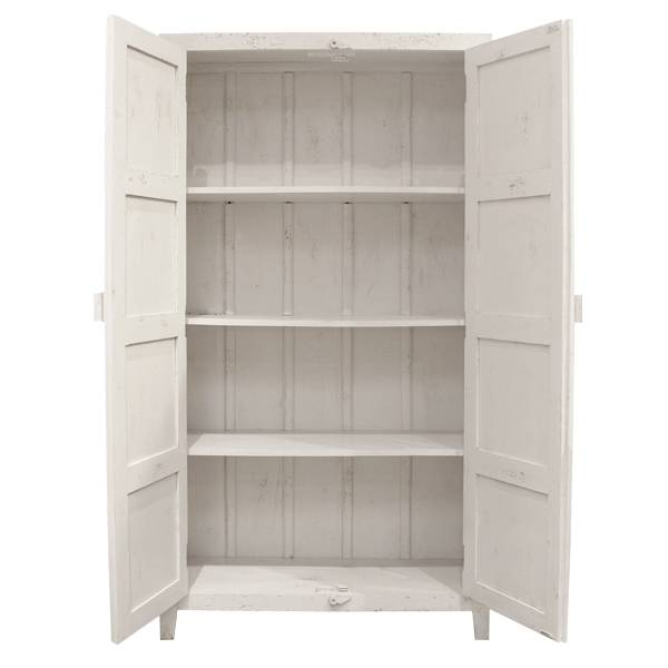 HK Living Ethnic Wardrobe Cabinet - white - HK Living