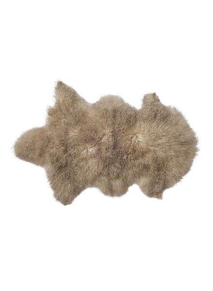 Bloomingville Peau d'agneau déco - Beige / Sable - 50x90cm - Bloomingville