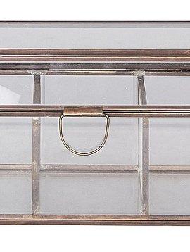 Broste Copenhagen Boîte à bijoux en verre / cuivre - Broste Copenhagen