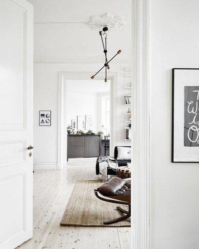 Déco scandinave vintage vu sur cocolapinedesign com petite lily interiors
