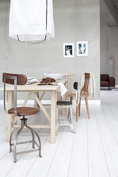 Déco Scandinave et Vintage vu sur VT Wonen