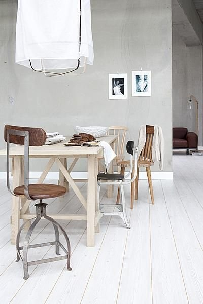 Scandinavian decor, Ethnic and Vintage seen on Planete-deco.com - Copy
