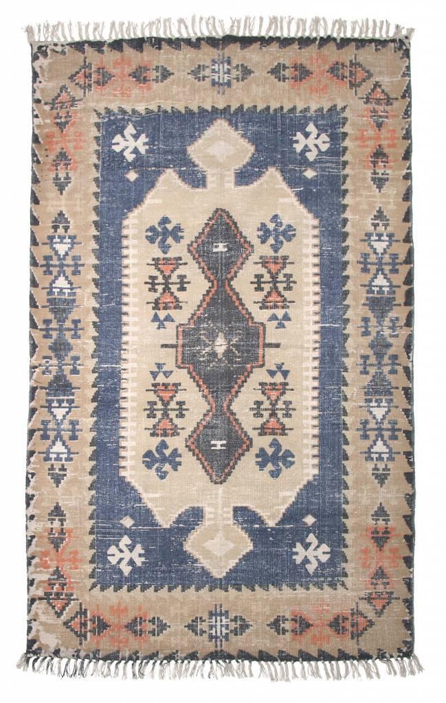 Alfombra dise o vintage multicolor 120x180cm storebror petite lily interiors - Alfombras nordicas ...