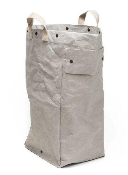 Uashmama Washable Paper Laundry Bag - light grey - Uashmama