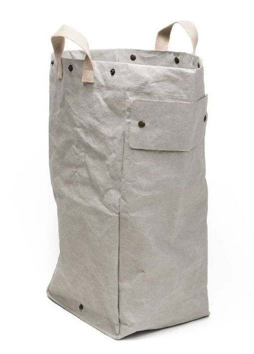 Uashmama Washable Paper Laundry Bag - light grey - Uashmama