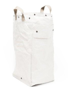 Uashmama Washable Paper Laundry Bag - White - Uashmama