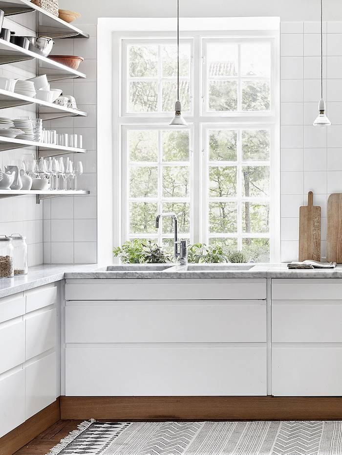 A kitchen Scandinavian style seen on dustjacket-attic.com