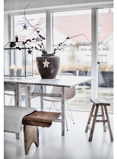 Sustainable Deco ethnic Scandinavian style seen on makeover.nl