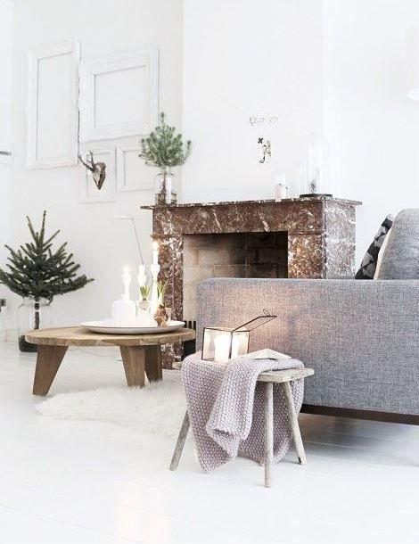 D coration d 39 un salon scandinave aux couleurs claires et naturelles vu sur pinterest petite for Pinterest decoration salon