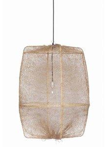 Ay Illuminate ONA Z2 bamboo pendant lamp with Tea Sisal cover - Ø77cm - brown - Ay illuminate