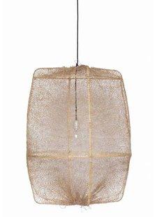 Ay Illuminate ONA Z2 Suspension en bambou et sisal - Ø77cm - brun - Ay Illuminate