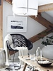 Bloomingville Black rattan 'Murray' lounge chair- Bloomingville
