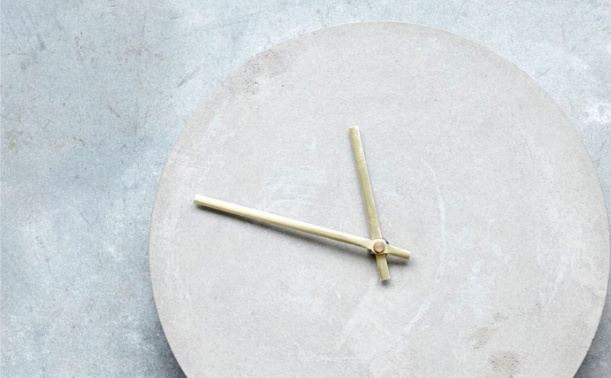 House Doctor Concrete wall clock - Ø28cm - House Doctor