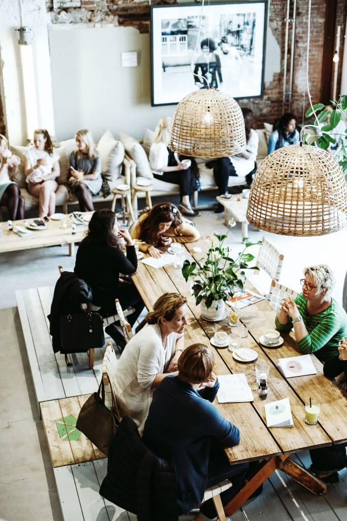 Estilo en Amsterdam : Coffee & Coconuts - visto en daniellucasfaro.com