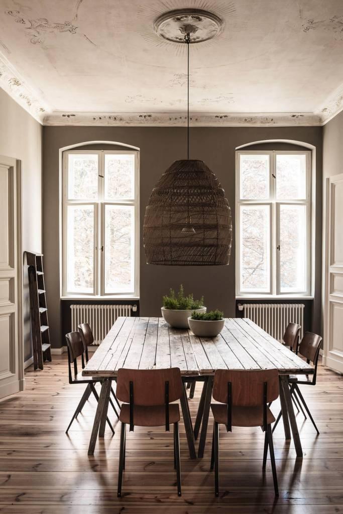 Magnifique appartement rustique à Berlin - vu sur frenchyfancy.com