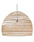 HK Living Lampe Suspension en osier - naturel - Ø80cm - HK Living