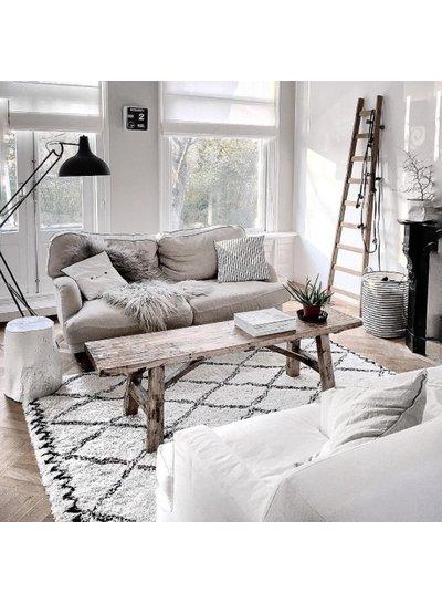 Magnifique appartement au style scandinave ethnique - vu sur Instagram @quellejoy