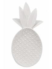Bloomingville Meseta Piña - blanco brillante - Bloomingville