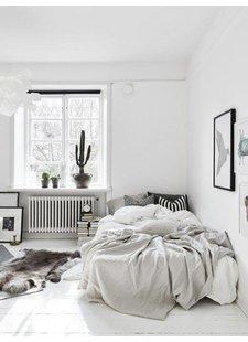Chambre style scandinave - vu sur Only Deco Love