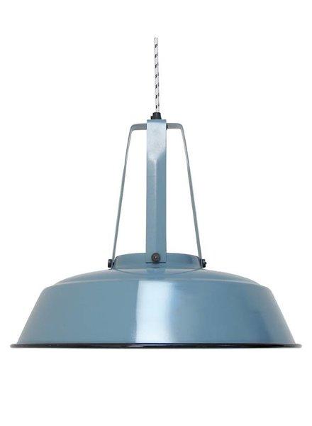 HK Living Lámpara de Suspensión Industrial - Azul - Ø42 - HK Living
