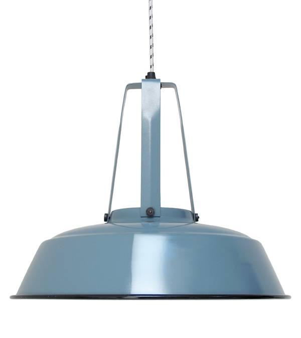 HK Living Industrial lamp made of metal - Ø45cm - Bleue - HK Living