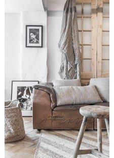 Ambiance scandinave ethnique avec le tapis chanvre par AAI made with love - Styling par Paulina Arcklin