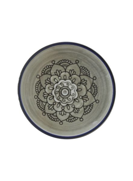 Tell me more Ethnic plate in stoneware 'Florens' - 28cm - Tell Me More