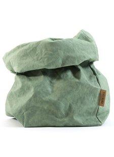 Uashmama Bolsa de papel lavable - Verde - Uashmama