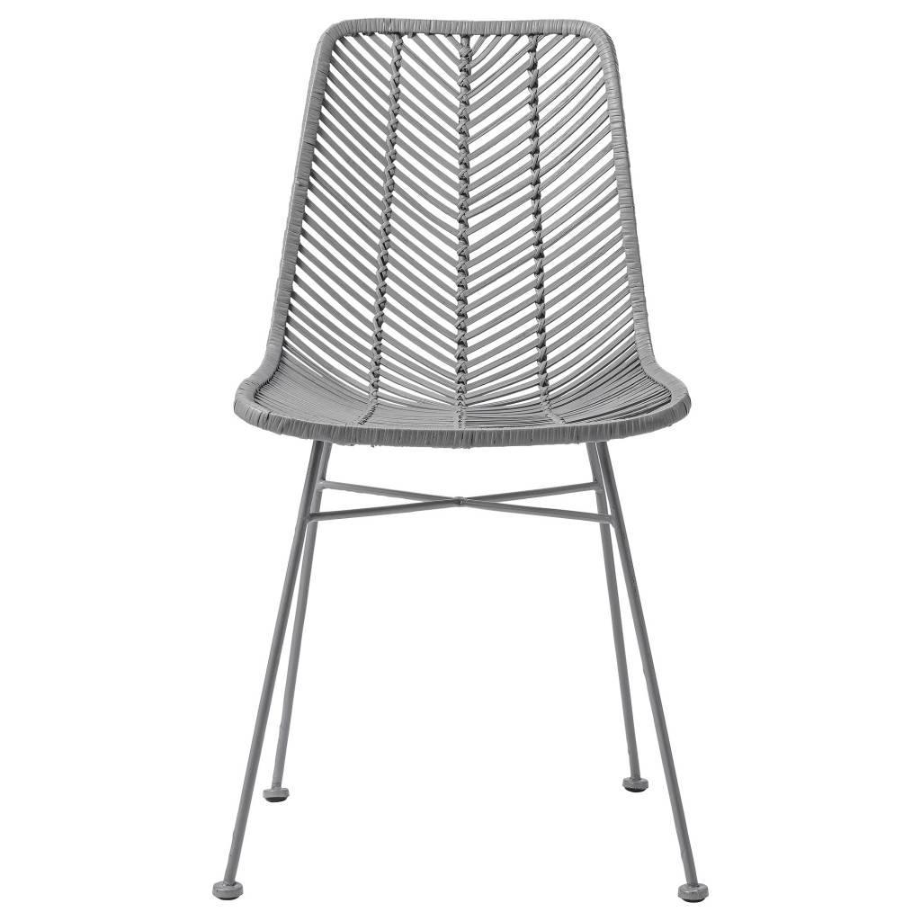 Bloomingville chaise lena rotin gris bloomingville - Chaise en rotin gris ...