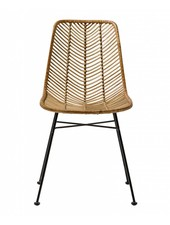 "Bloomingville Rattan chair 'Lena"" - Natural - Bloomingville"