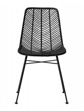 Bloomingville Lena black rattan chair - Bloomingville