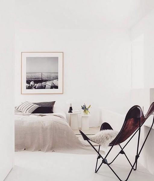Style Vintage avec Fauteuil Papillon - Vu sur FEEM Interior Design Sweden