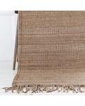 Tell me more Hemp Rug - Natural / Brown - 200x300cm - Tell Me More
