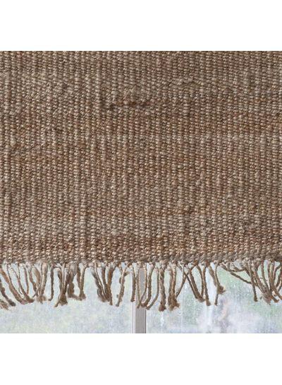 Tell me more Alfombra nordica étnica de cáñamo - beige - 200x300cm - Tell me more