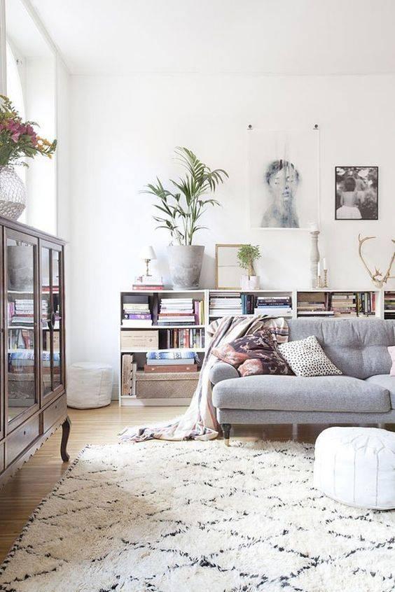 Les tapis ethnique, berbères et Boucherouites sont dans la tendance déco cette année - Vu sur Marie Claire Maison