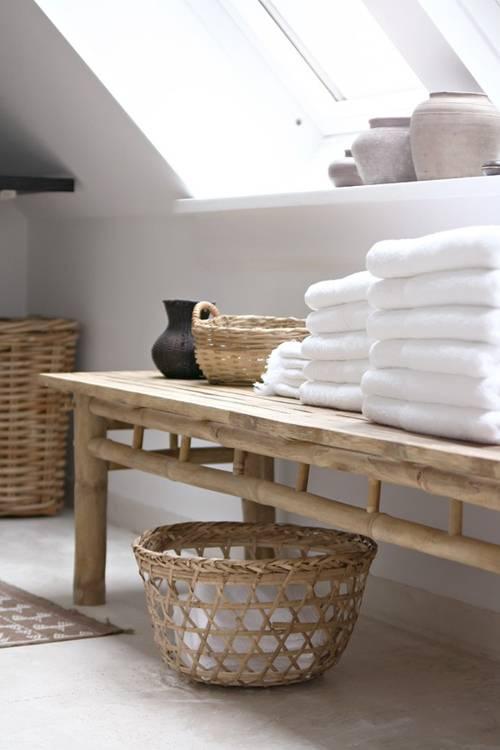 Déco Scandinave Ethnique Salle de bain - Vu sur Pinterest - Petite ...