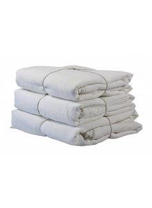 Tell me more Funda nórdica 100% lino lavado piedra - 220x240 - blanqueado - Tell me more