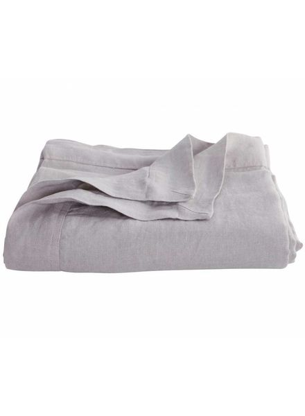 House Doctor Colcha 100% Lino - Gris - 250x220cm - House Doctor