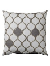 Bloomingville Habiba cushion - white - 50x50cm - Bloomingville