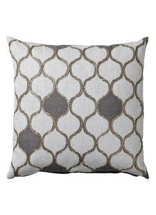 Bloomingville Habiba cushion - white - 50x50cm - Bloomingville