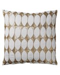 Bloomingville Harlequin cushion - white - 50x50cm - Bloomingville