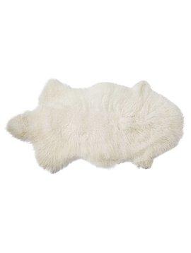 Bloomingville Peau d'agneau déco - Blanc - 50x90cm - Bloomingville