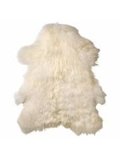 Bloomingville Deco piel de cordero - Blanco - 100x110cm - Bloomingville