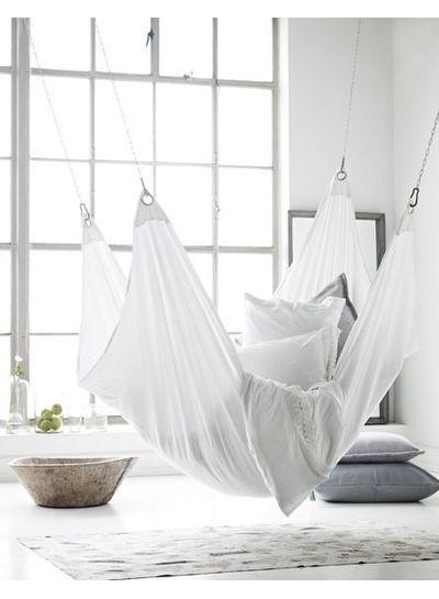 Scandinavian decor with gray bedding - Seen on Pinterest - Copy - Copy